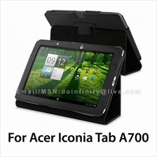 Acer Iconia Tab A700 A701 Leather Stand Case 10.1 Tablet Cover New