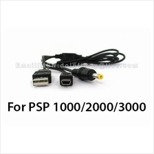 New USB Data Transfer Power Charger Cable for Sony PSP 1000 2000 3000