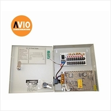AVIO PSD12095A CCTV 12V 5A 9-way Power supply Distribution for CCTV ca