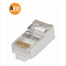 AVIO RJ45(Cat6) Cat6 RJ45 Modular Plug / Connector  (10 PCS)