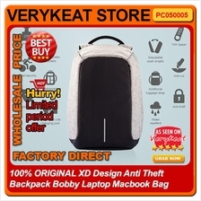 100% ORIGINAL XD Design Anti Theft Backpack Bobby Laptop Macbook Bag