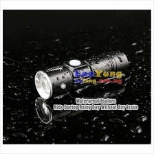 MTB Ultra Bright Zoom LED Torch Light Bike Front Lamp USB Rechargeable