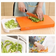 Multifunctional Sliding Cutting Board ( Green)