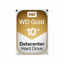 WESTERN DIGITAL GOLD (RE) 3.5' 10TB 7200RPM SATA 6GB/S (WD101KRYZ)