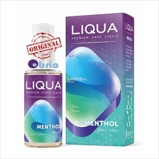 *ORIGINAL* LIQUA Menthol 30ml eLiquid Vapor Vape eJuice