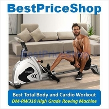 DMFitness Gym Grade Rowing Machine Cardio Sexy Slimming Weight Lost