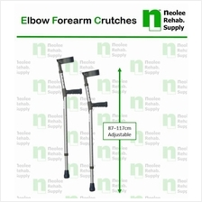[Neolee] Tongkat Lengan Elbow Crutches (Sepasang - Pair)