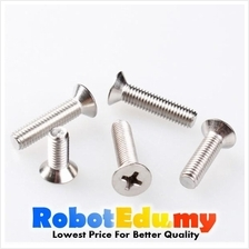 Stainless Steel Flat Head CSK HD Philip M8 Screw / Bolt -20 30 50 60mm
