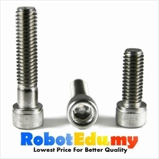Stainless Steel Socket Allen Key Cap M6 Screw /Bolt-10 20 30 50 60mm