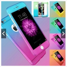 2Tone Iphone 5S 6S 6+ 7 360 Full Protection Case (FREE Tempered Glass)