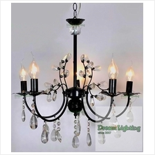Candle Crystal Chandelier Pendant Lights