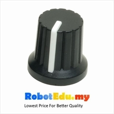 Potentiometer Knob Cap ; Push Fit for 6mm Variable Resistor Shaft