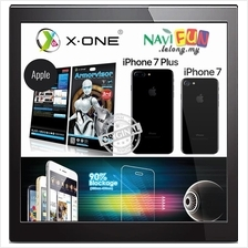 ★X-One Armorvisor Anti-bluelight Screen Protector iPhone 7 7Plus