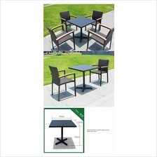 543629152391 Durable rattan wicker table and chairs - 2 seats