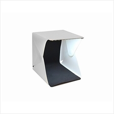 Mini Portable Foldable Photography Studio Light Box Kit With LED Light