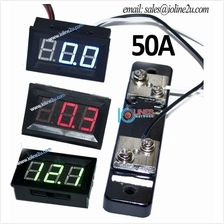 DC 0~50A Digital Ammeter Ampere Current meter 3 Digit 0.56 ″LED Precisio
