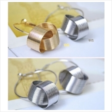 03080 Korean design classic metal earrings