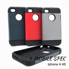 Apple iPhone 4 4s 5 5s 6 6s Plus Spigen Tough Slim Armor Case