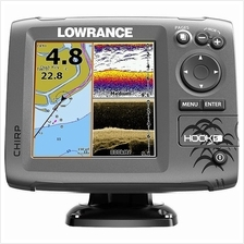 Lowrance Hook 5 GPS Fishfinder/Chartplotter with Free protective Cover