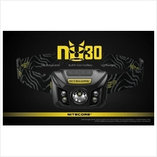Nitecore NU30 with USB Rechargeable LED Headlamp - 400 Lumens
