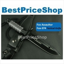 Fox 374 Assaultor Tactical Survival Hunting Attack Knife Camping Blade