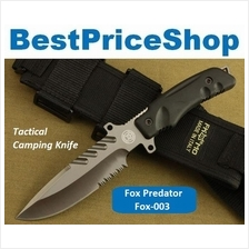 Fox 003 Predator Tactical Survival Hunting Knife Camping Blade Hiking