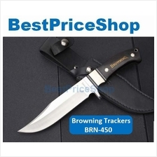 Browning Trackers Tactical Survival Camping Knife Self Defence Blade