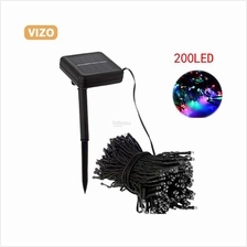 200 LED Outdoor Solar Powered String Light Garden Christmas Party Fair