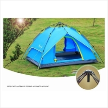 Hydraulic Automatic 2in1 Camping Tent 3-4 Person FREE SMART KEY CHAIN