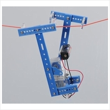 DIY Auto Rope Climbing Robot ; Educational Assembly Kit