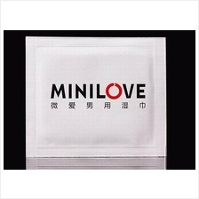 MINI LOVE MEN WIPES (Delay Tahan Lama)