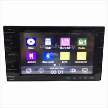 "6.2"" Universal Double Din Touchscreen DVD Player 6221 by BROZ CAR"