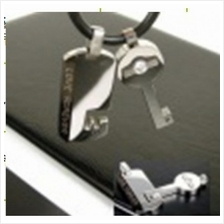 03729 Korean design couple diamond pendant (one pair)