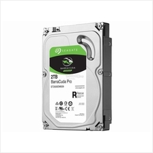SEAGATE 3.5' BARRACUDA PRO 2TB SATA 6GB/S 7200RPM (ST2000DM009)