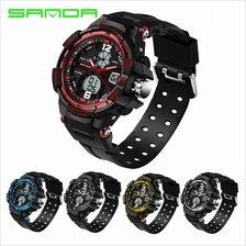 SANDA289 Waterproof Outdoor Multifunctional Sports Digital Watch(5COL)