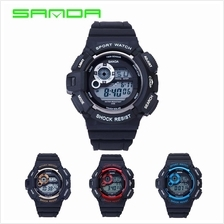 SANDA 302 Waterproof Multifunctional Sports Men's Digital Watch(5COL)