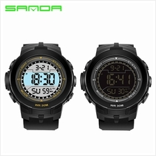 SANDA 340 Multifunctional Sports Waterproof Digital LED Watch (2 COL)