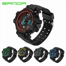 SANDA 729 Waterproof Multifunctional Sports Men Digital Watch (5 COL)