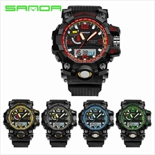 SANDA 732 Waterproof Multifunctional Sports Digital Watch (5 COL)