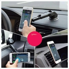 Long Neck Magnetic Dashboard/Glass Mount Adjustable Car Phone Holder
