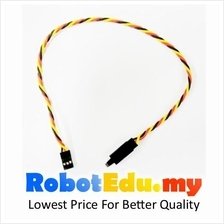 JR Plug 30cm Servo Extension Wire Twisted Locking Cable ; 60 Core Wire