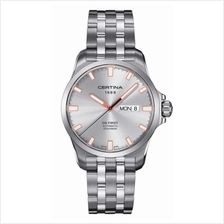 CERTINA C014.407.11.031.01 DS First Day-Date Automatic Gent SSB Silver