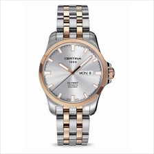 CERTINA C014.407.22.031.00 DS First Gent Day-Date Automatic SSB Silver
