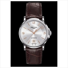 CERTINA C017.407.16.037.01 DS Caimano Gent Date Automatic LSB Silver