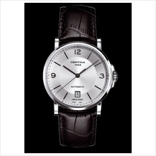 CERTINA C017.407.16.037.00 DS Caimano Gent Date Automatic LSB Silver