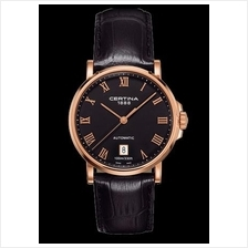 CERTINA C017.407.36.053.00 DS Caimano Gent Date Automatic LSB Black
