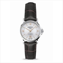 CERTINA C017.207.16.037.01 DS Caimano Lady Date Automatic LSB Silver