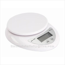 New Compact 5Kg x 1g Electronic Digital Kitchen Scale Diet Food Weight