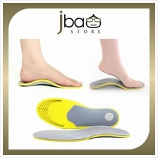Bio-Mechanics Orthotic Arch Support Shoe Insole Flat Foot Care Insoles