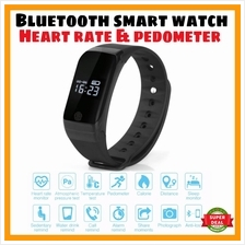 X7 Heart Rate Wristband Sport Watch Pedometer Fitness Band Exercise